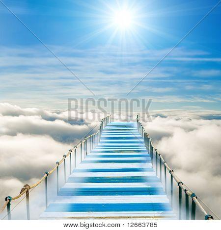Pier in heaven