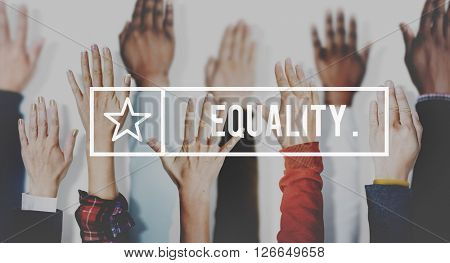 Equality Balance Fairness Respect Relationship Concept