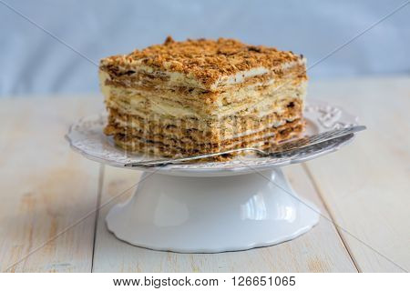 Cake Of Puff Pastry.