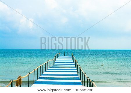 Pier to eternity