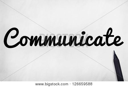 Communicate Communication Connect Conversation Concept