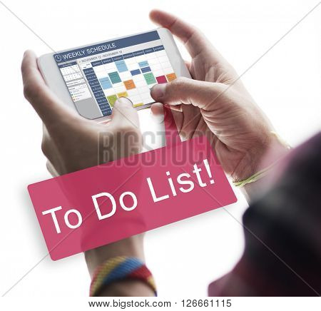 To Do List Memo Task Reminder Ideas Note Concept