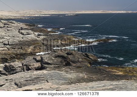 Atlantic Coastline at Diaz Point, Namibia, Africa