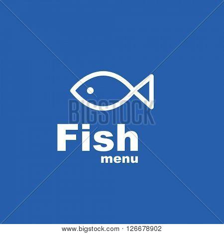 Fish menu - Design element