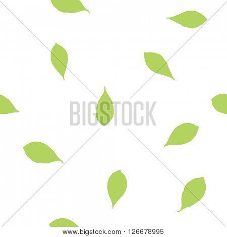 Leafs - seamless pattern - Design element