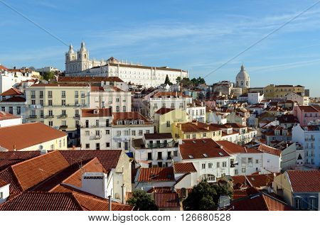 The Church of Santa Engrácia is a 17th-century monument in Lisbon Portugal.