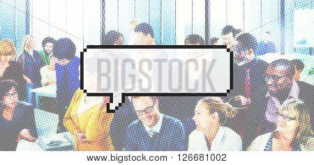Speech Bubbles Conversation Communication Concept