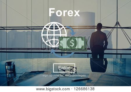 Forex Currency Exchange Finance Stock Trade Concept