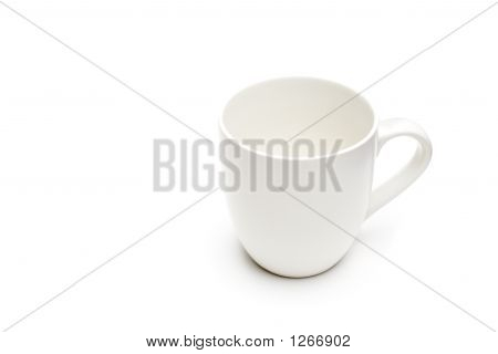Coffee Cup White Isolated