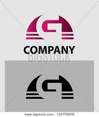 Alphabet symbol Letter G. Letter G logo design