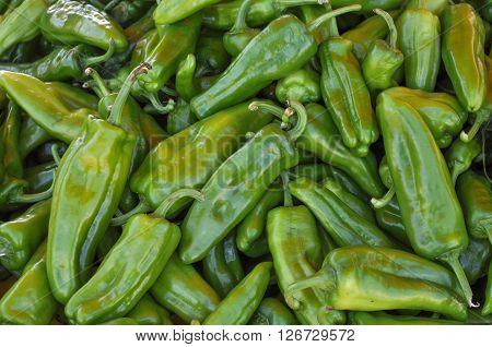 Green Peppers Vegetables