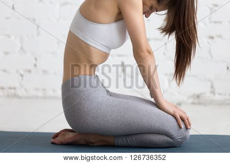 Yoga Indoors: Upward Abdominal Lock