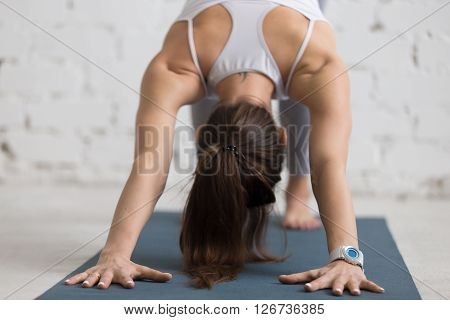 Yoga Practice, Close-up