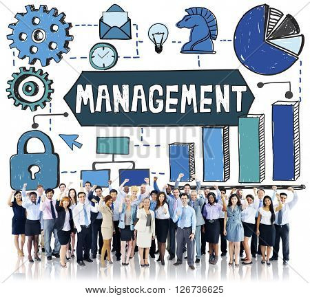 Management Organization Leadership Strategy Concept