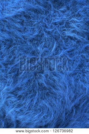 cashmere texture fleecy fabric blue fluffy warm background.