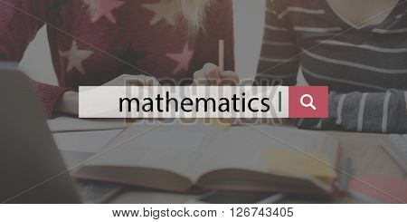 Mathematics Math Calculate Education Number Concept