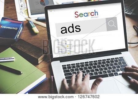 Ads Advertising Branding Marketing Concept