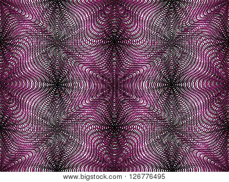 Continuous vector pattern with graphic lines decorative abstract background with overlay shapes. Colorful ornamental seamless transparent backdrop can be used for design.