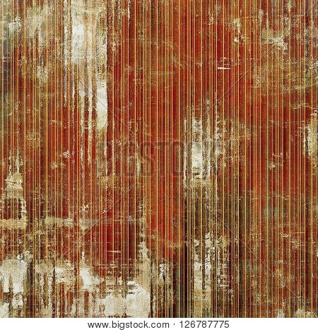 Retro design on grunge background or aged faded texture. With different color patterns: yellow (beige); brown; red (orange); gray; white