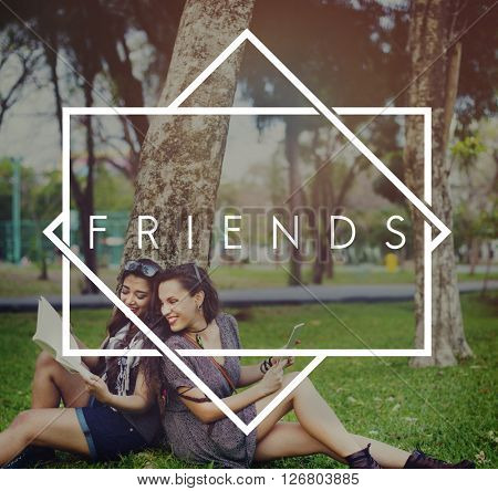 Friends Friendship Colleagues Society Concept