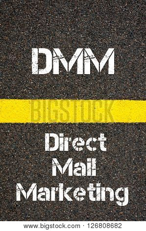 Business Acronym Dmm Direct Mail Marketing