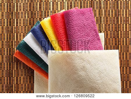 Colorful Paper Table Napkins