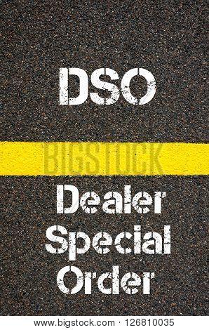 Business Acronym Dso Dealer Special Order