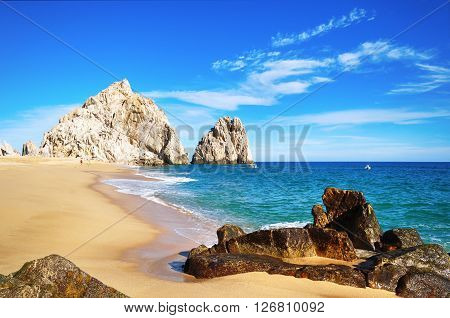 Lovers Beach, Cabo San Lucas, Baja California Sur, Mexico.