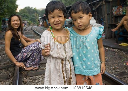 BANGKOK , THAILAND - NOVEMBER, 2005 : 