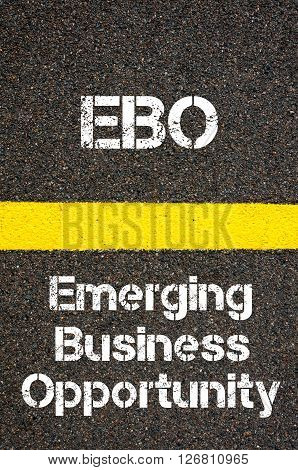 Business Acronym Ebo Emerging Business Opportunity
