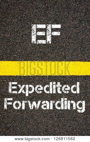 Business Acronym Ef Expedited Forwarding