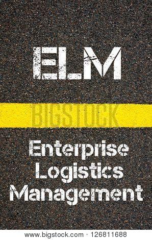 Business Acronym Elm Enterprise Logistics Management