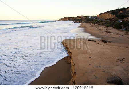 Sunrise at Crystal Cove State Park California coast
