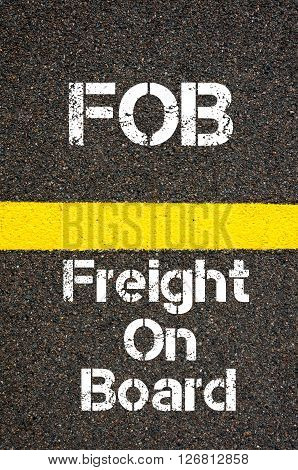 Business Acronym Fob Freight On Board