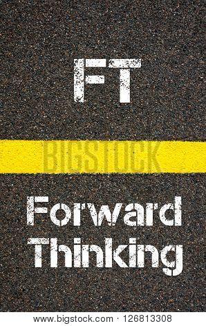 Business Acronym Ft Forward Thinking