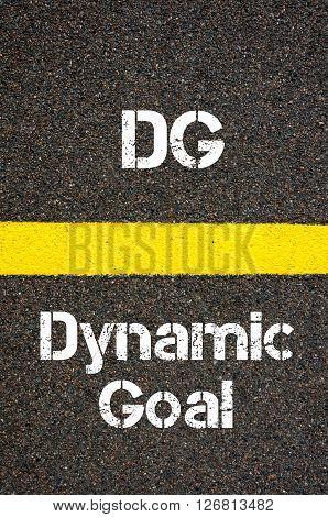 Business Acronym Dg Dynamic Goal