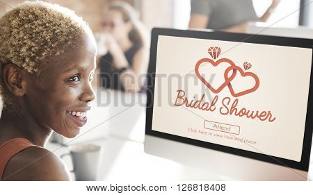 Bridal Shower Baccalaureate Party Celebration Marriage Concept