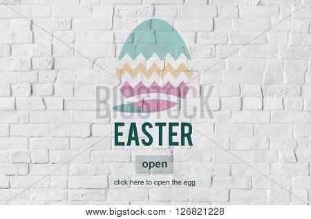Easter Bunny Rabbit Spring Season Tradition Egg Concept