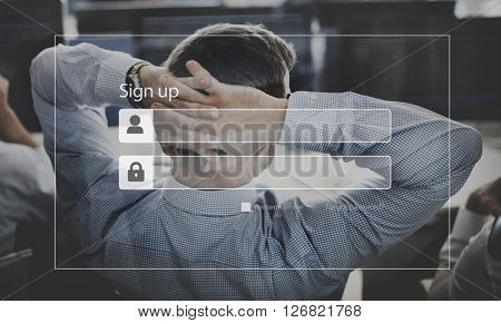 Businessman Worried Investment Business Concept