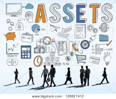 Assets Property Resources Wealth Concept