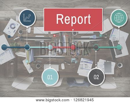 Report Research News Article Resulting Information Concept