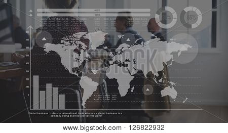 Global Community Globalization Networking Concept
