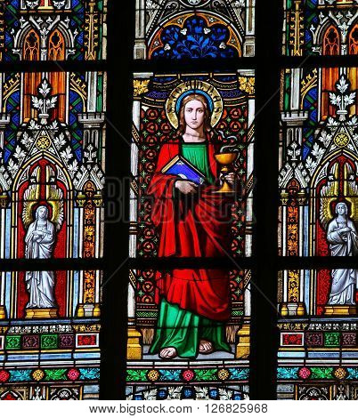 Stained Glass - Saint John The Evanglist