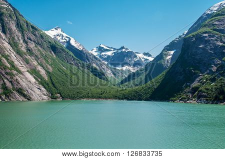 Tracy Arm Fjord, Alaska, United States of America.