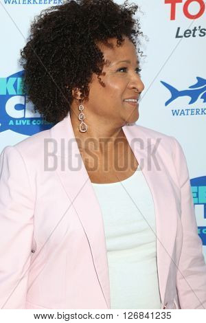 LAS VEGAS - APR 21:  Wanda Sykes at the Keep It Clean Comedy Benefit For Waterkeeper at the Avalon Hollywood on April 21, 2016 in Los Angeles, CA
