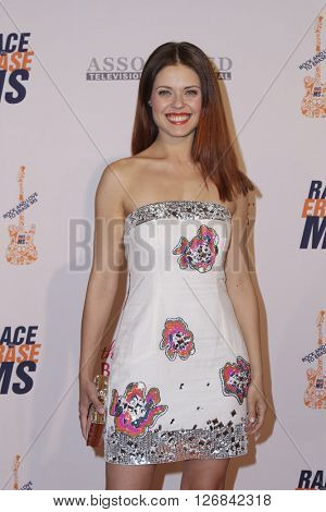 LAS VEGAS - APR 15:  Anna Trebunskaya at the  23rd Annual Race To Erase MS Gala at the Beverly Hilton Hotel on April 15, 2016 in Beverly Hills, CA