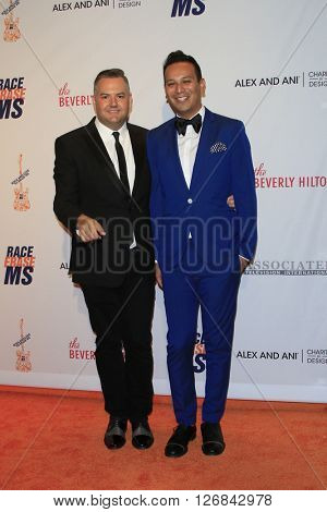 LAS VEGAS - APR 15:  Ross Matthews, Salvador Camarena at the  23rd Annual Race To Erase MS Gala at the Beverly Hilton Hotel on April 15, 2016 in Beverly Hills, CA