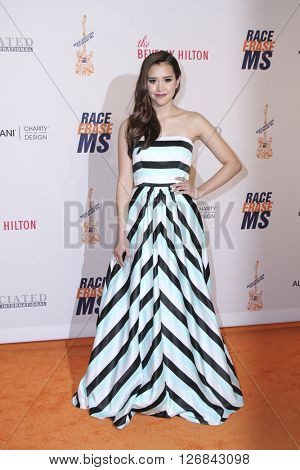 LAS VEGAS - APR 15:  Megan Nicole at the  23rd Annual Race To Erase MS Gala at the Beverly Hilton Hotel on April 15, 2016 in Beverly Hills, CA
