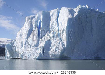 Icebergs Next To Upsala Glacier, Patagonia, Argentina.