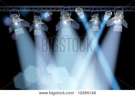 Stage Spotlight Rack